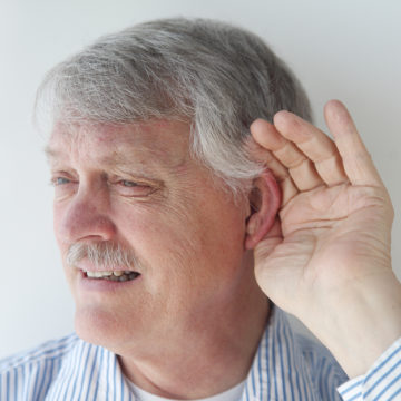 senior is losing his ability to hear
